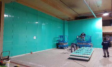 Cold room Panels installation